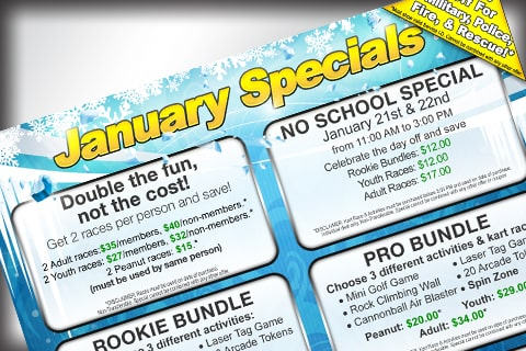 January Specials News image