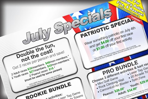 July Specials News image